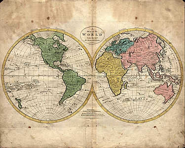 Carey Produced The Best American Cartographic Work Of The Period And Established The Pattern For American Map